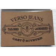 Etiqueta Para Calças Jeans 100 Unid Personalizado Logomarca