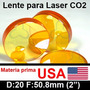 Lente Laser Usa Co2 Corte Grabado D 20mm F 50.8mm Pantografo