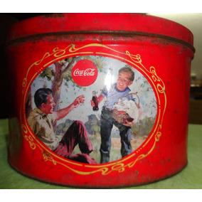 Lata Antiga - Coca Cola - Decorada - A60