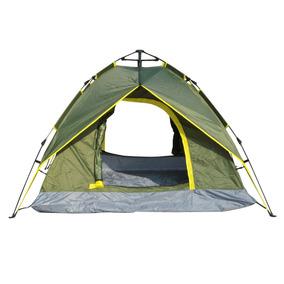 Outsunny 3-4 Persona Camping Carpa Instantánea 2 Capas Pop