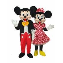 Botarga Adulto Disfraz Mickey Mouse Y Mimi Mouse Fiesta