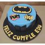 Tortas Decoradas Infantiles Superheroes Varones Nenes