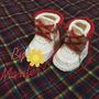 Zapatos Y Conjuntos Tejidos Para Bebé -