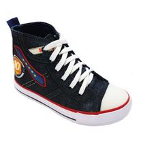 Tenis Starzinho Cano Medio Jeans Com Aplique- Original+ Nf