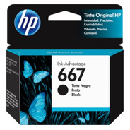 Cartucho Hp 667 Negro 1275 2775 2778 2779 2336 4175 Original