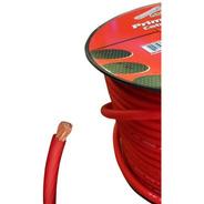 Cable Audiopipe Rollo Potencia Ultra Flexible 4 Gauge Rojo M