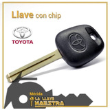 Llave Toyota Fortuner Hilux Machito Con Chip