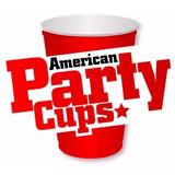 50 Copos Americanos 300ml Para Festas Red Cup Balada