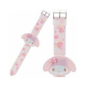 My Melody Lindo Reloj De Pulso Pantalla Led Sanrio Japón