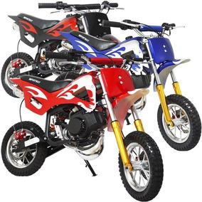 Mini Moto Cross Gasolina Infantil 2t 49cc Trilha Dirt Bike