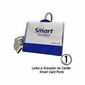 Leitor Cartão Smart Card Perto Certificado Digital Usb Nfe