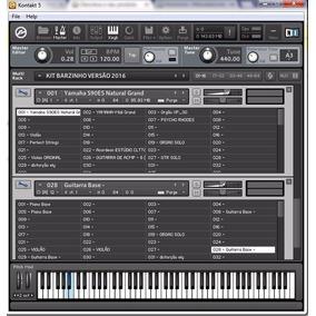 Kit Sample Kontakt Barzinho E Gospel 50 Ritmos Yamaha