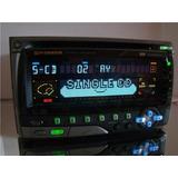 Pioneer 2din 2dim Tape Cd Fh-p700 Carrozzeria Ñ Golfinho