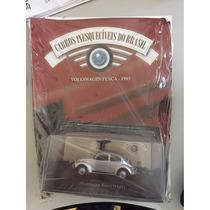 Volkswagen Fusca 1985 - Coleção Carros Clássicos Brasileiros