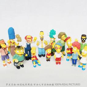 Os Simpsons Kit Com 14 Bonecos