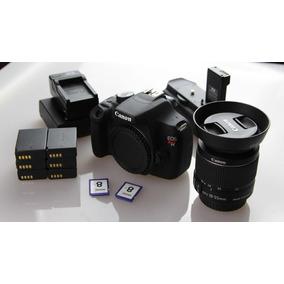 Kit De Camara Canon Rebel T5 Lente 18-55mm Y 70-300mm Y Mas