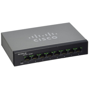 Switch Cisco Sg110d-08 8 Port 10/100/1000 Giga Reemp Sg100-8