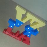 Vzla Venezuela Decorativo Souvenir Madera
