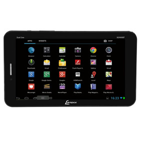 Tablet 8gb Android 2 Chips Bluetooth Rádio Fm Wifi Lenoxx