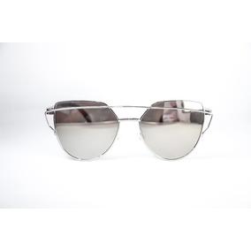 Oculos De Sol Feminino Love Punch Lindo Prata Espelhado 05f8bd60d0