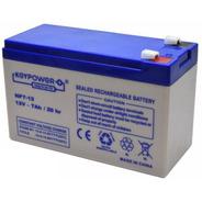 Bateria Alarma 12v 7ah 7a Recargable Leds Ups Garantia 1 Año