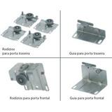 Kit Sistema Cermag Frontal Slide 3 Portas Correr Deslizante
