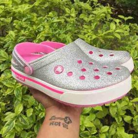 Zapatos plateado Crocs para mujer YrTebFC