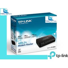 Modem Router + Adsl2 Tp-link Td-8816 Banda Ancha