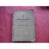 Manual Despiece Mercedes Benz 170 Db 1952 Hormiga Negra