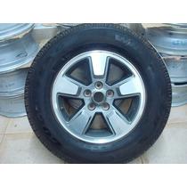 Roda Cherokee Sport 2008 C/ Pneu Goodyear 235/70/16 Novos