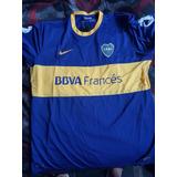Camiseta Original Boca Juniors Nueva 2013 2014 Tela De Juego