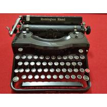 Maquina De Escrever Remington Rand Model 1 Original Anos 30