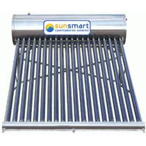 Calentador Solar 14 Tubos 180 Litros Acero Inoxidable