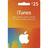Itunes Gift Card $25 Usa- Iphone Ipad Apple Store- Scheda