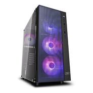 Gabinete Deepcool Matrexx 55 Mesh Frontal Con 4 Coolers Argb
