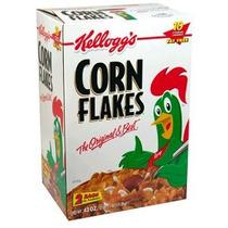 Corn Flakes Cereal 43,0 Onza Total De Kellogg Dos Bolsa Valo
