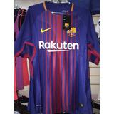 Camiseta Del Barcelona Versión Jugador 2017-3018 Original