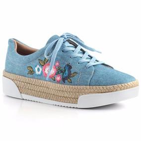 Tênis Alto Lindo Jeans Piccadilly 978002