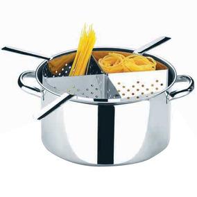 Espagueteira 10l Inox Com 4 Divisões Suprema - Brinox