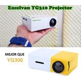 Mini Proyector Led Portátil Yg310