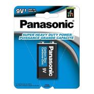 6 Unidades Pila Panasonic Cuadrada 9v1  Original Batería 9v