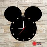 Relógio Decorativo Gama Laser Mickey Walt Disney