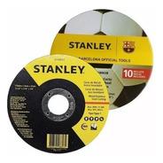Disco De Corte Stanley 115x1.6mm En Pack Lata X 10 Unidades