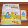 Livrinho Colorir Personalizado Tam.p 7 X 10 R$ 2,99 Com Giz