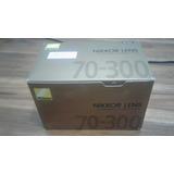 Nikkor Lens Af Zoom 70-300mm F/4-5.6g
