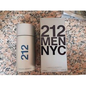 Frasco Con Caja Perfume 212 Nyc Men Carolina Herrera 200ml