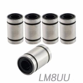 Balero Lineal Rodamiento 8mm Lm8uu Impresora 3d Cnc