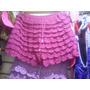Falda/short Tejida A Crochet Para Mujeres Y Niñas