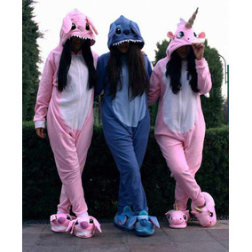 Pijama Enterizos - Stitch, Unicornio, Pato(gravity)