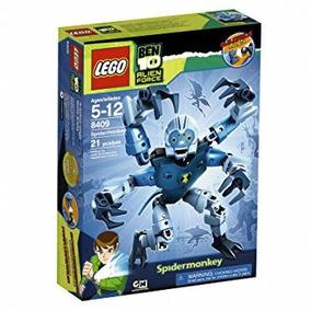 Juguete Lego Ben 10 Alien Force Mono Araña (8409)